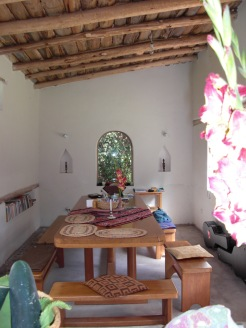 dining area/work room