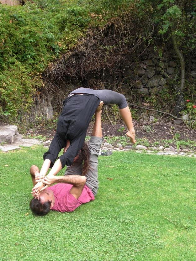 acro yoga !