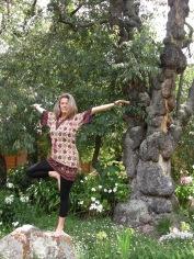 flying tree pose :)