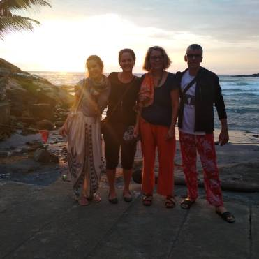 Our one beach day after the Ashram in Kovalam.