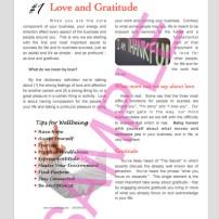 sample ebook or newletter design